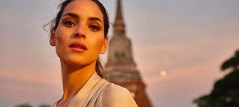 Adria Arjona on starring in Giorgio Armani's unretouched fragrance campaign and her bargain beauty hacks